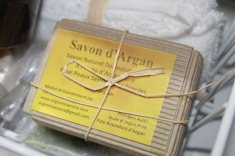 Savon naturel d'argan