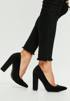 escarpins noirs @missguided