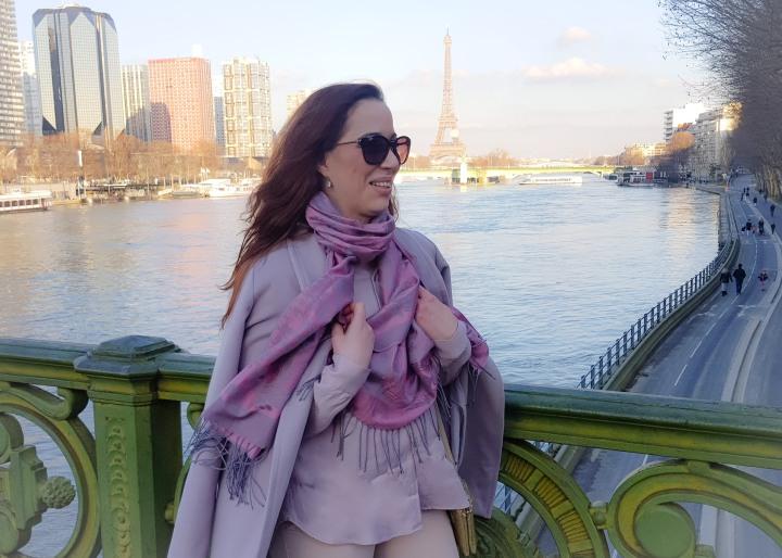 Notre dîner croisière sur la Seine àPARIS
