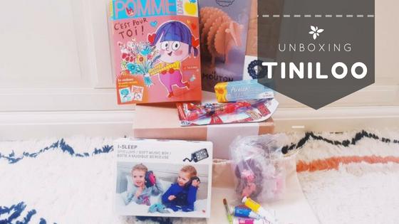 Unboxing – TINILOO – Kermesse en pleinair!