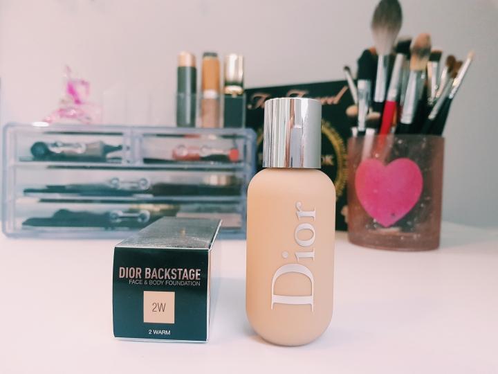 [Test et Avis] Le nouveau fond de teint DiorBackstage!