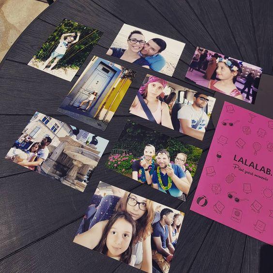 Imprimer vos souvenirs avecLALALAB