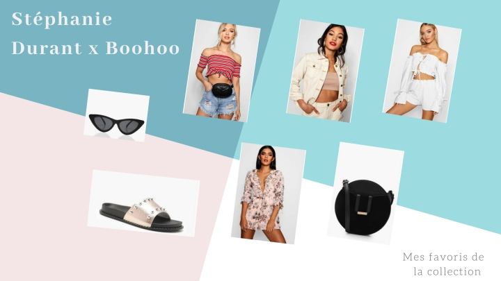 Mes favoris de la collection Stéphanie Durant x Boohoo